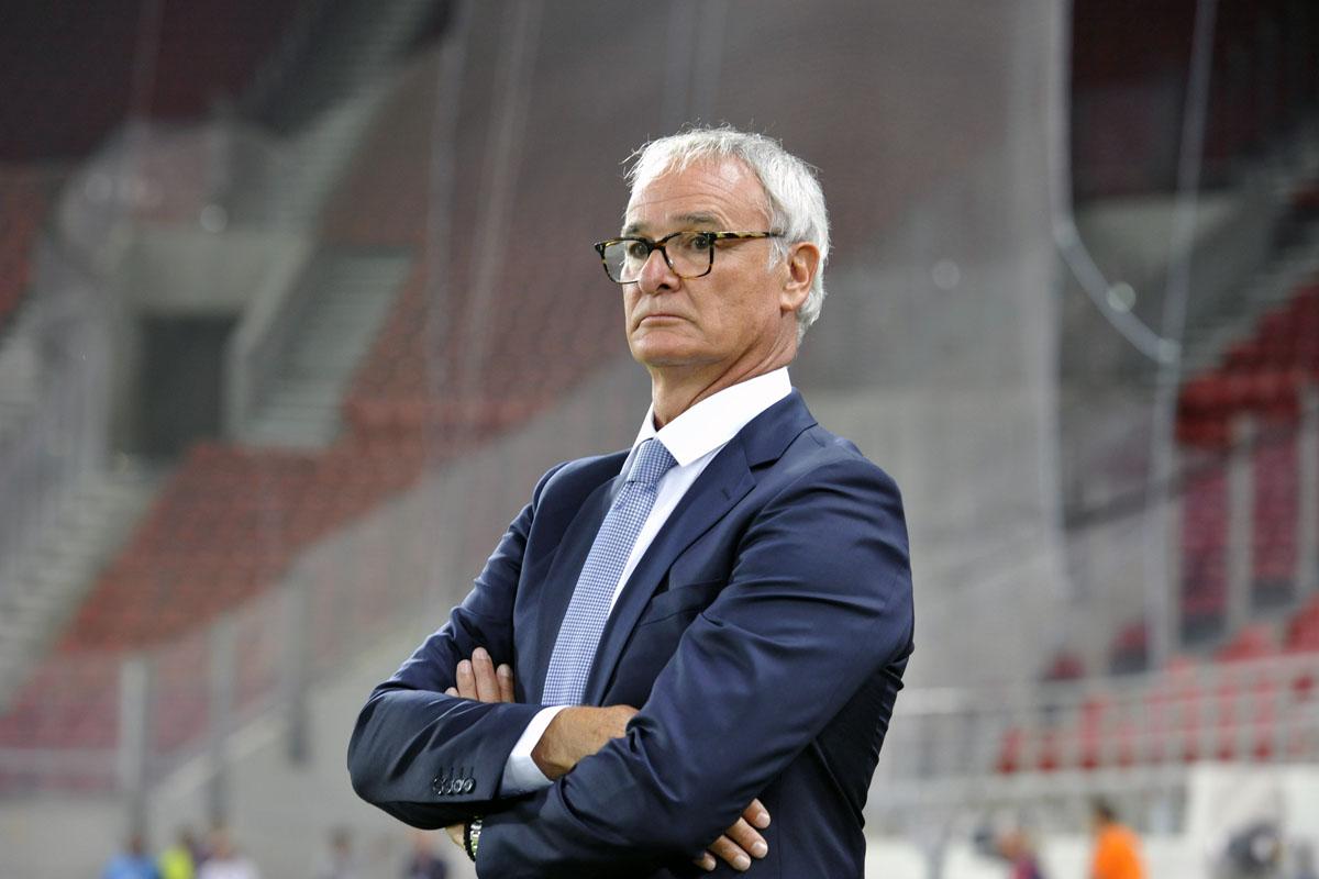 Claudio Ranieri Coaching Leicester City