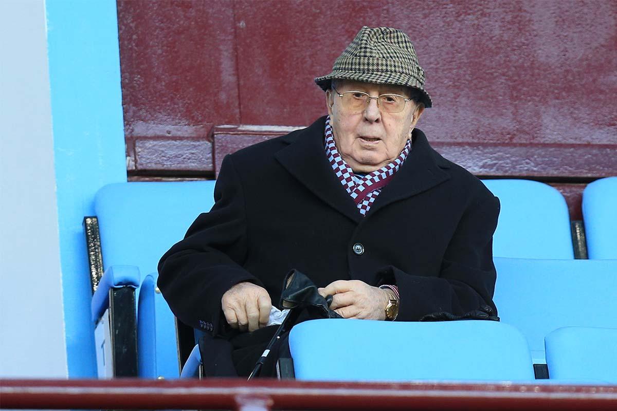 Doug Ellis, Aston Villa