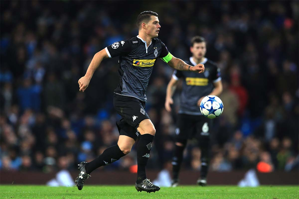 Granit Xhaka, Champions League