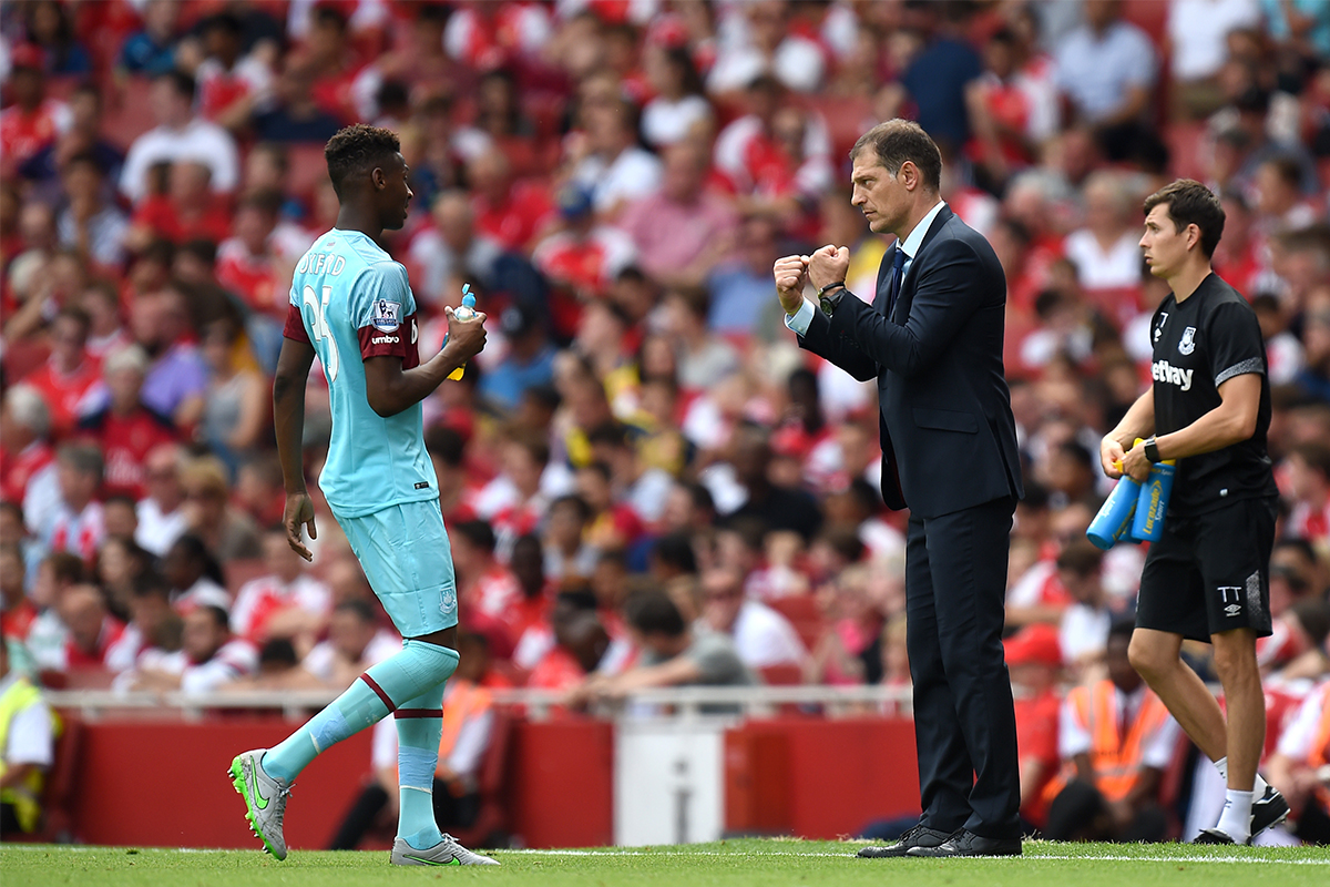 Reece Oxford At Arsenal