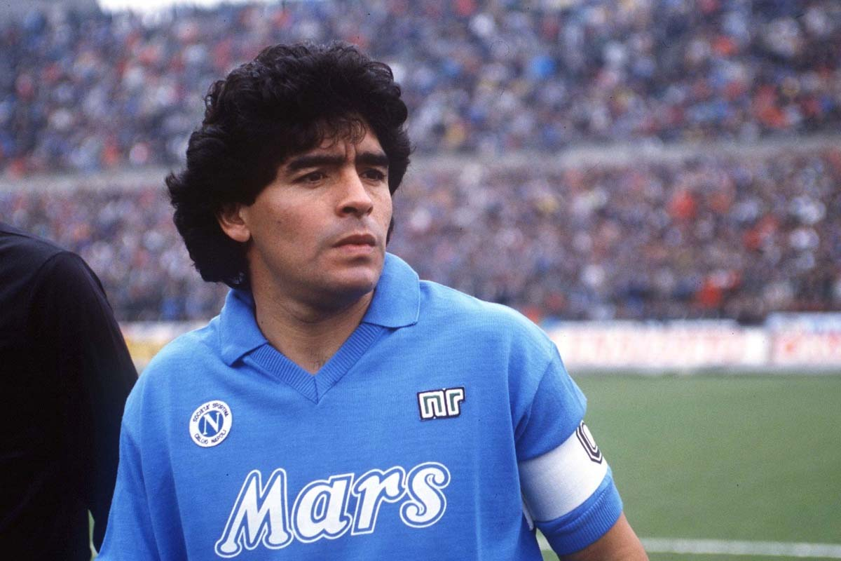Image result for maradona napoli