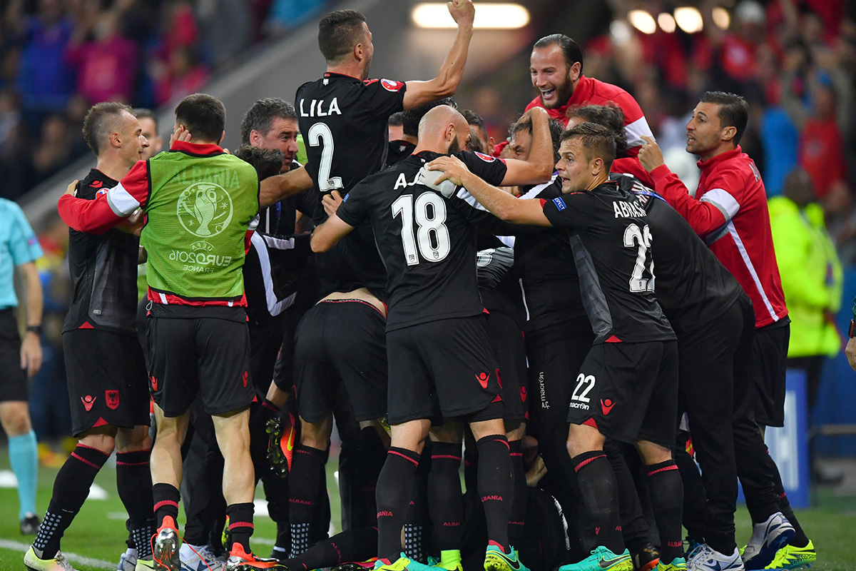 Albania-Goal