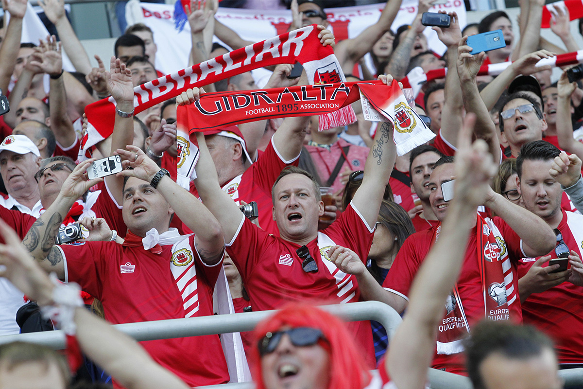 Gibraltar-Fans