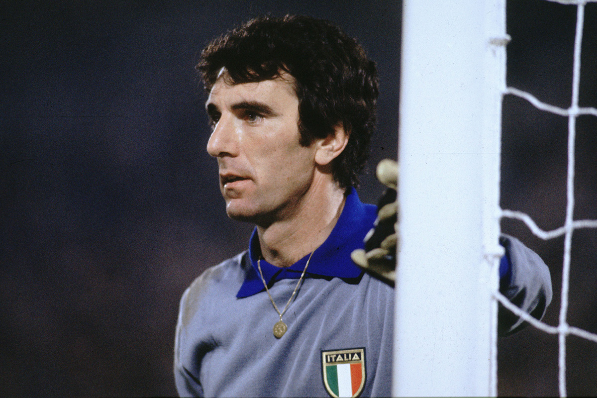 No 2 Dino Zoff The Top 5 Italian Goalkeepers All Time