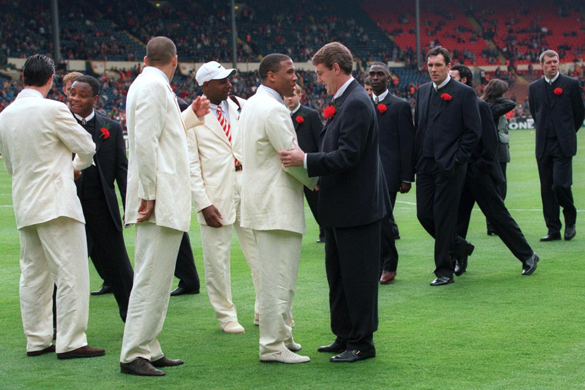 Liverpool Armani Suits