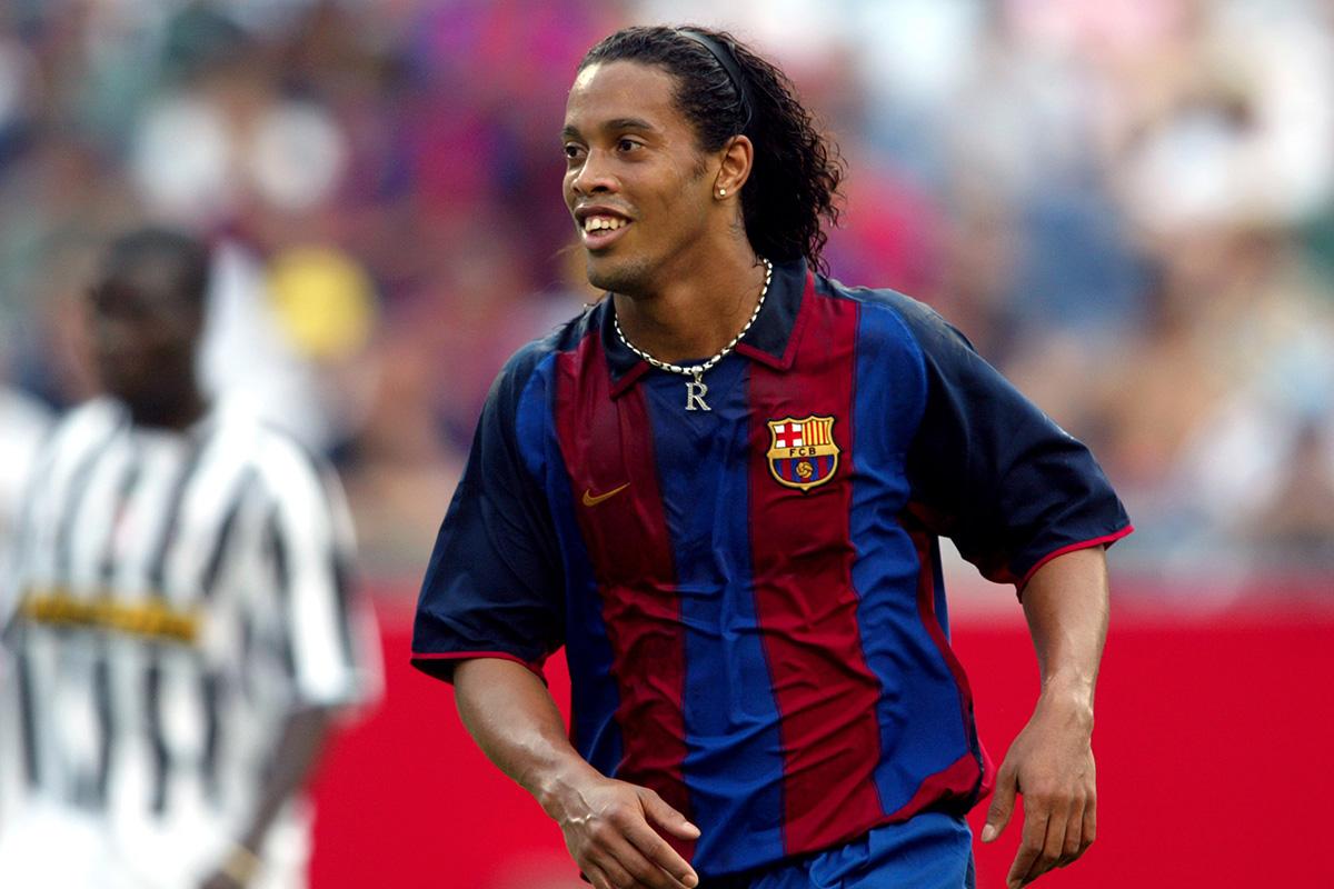 Resultado de imagen para Ronaldinho 2002 barcelona