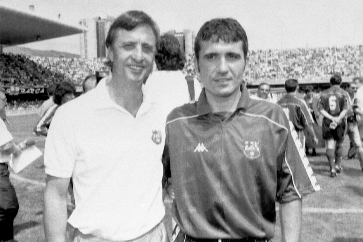 Gheorghe Hagi johan cruyff