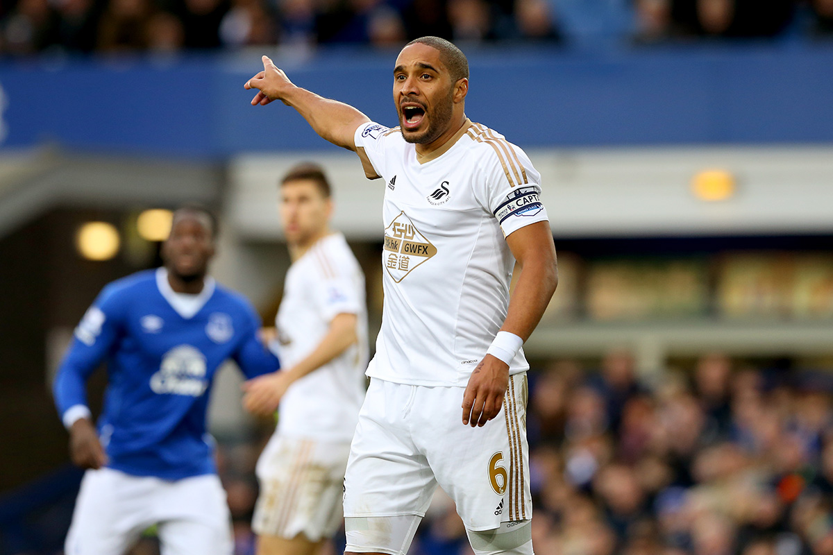 ashley williams swansea everton