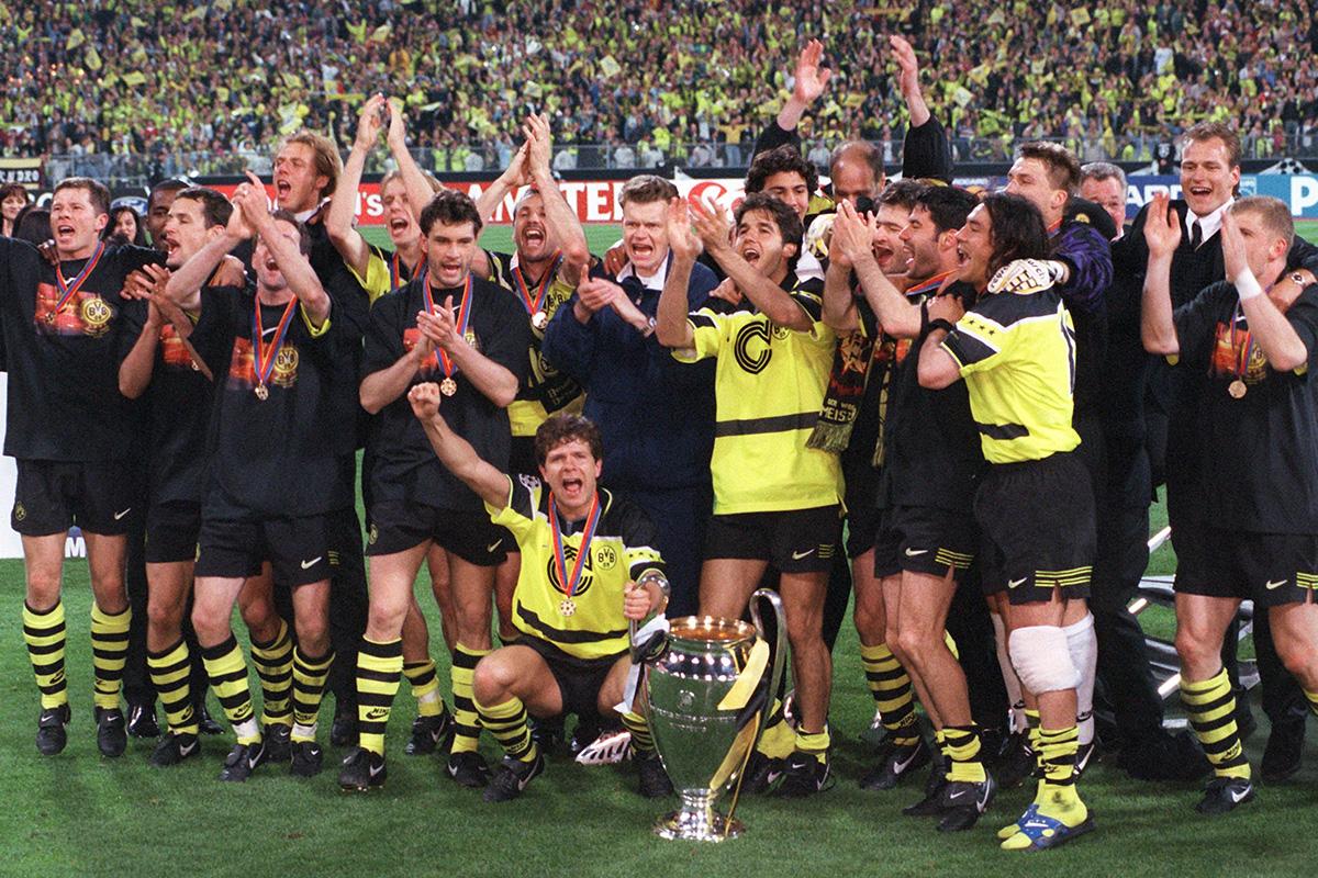 borussia dortmund champions league 1997