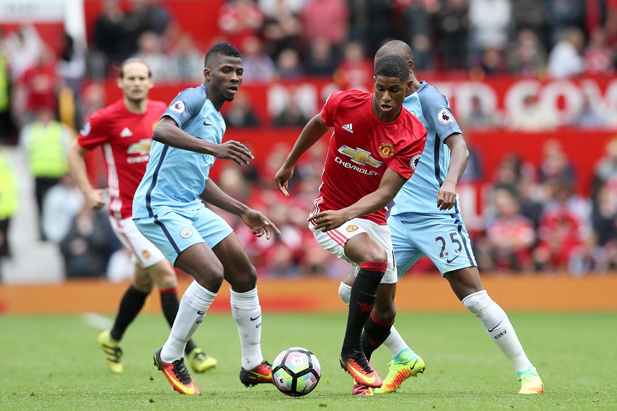 Marcus Rashford Manchester United v Manchester City