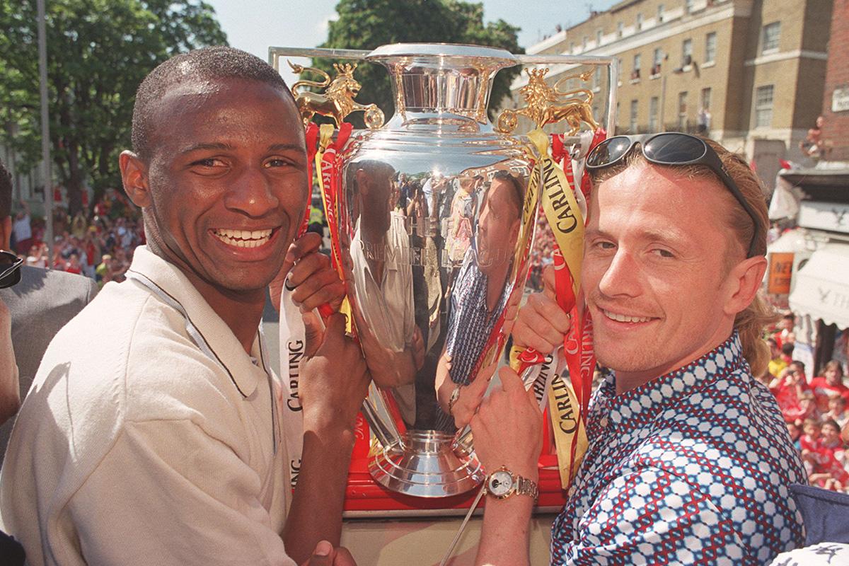 Patrick Vieira Emmanuel Petit Arsenal Champions