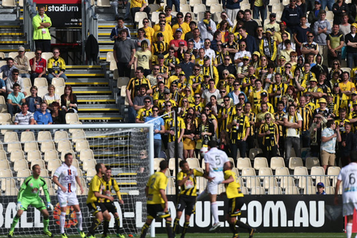 wellington phoenix v perth glory