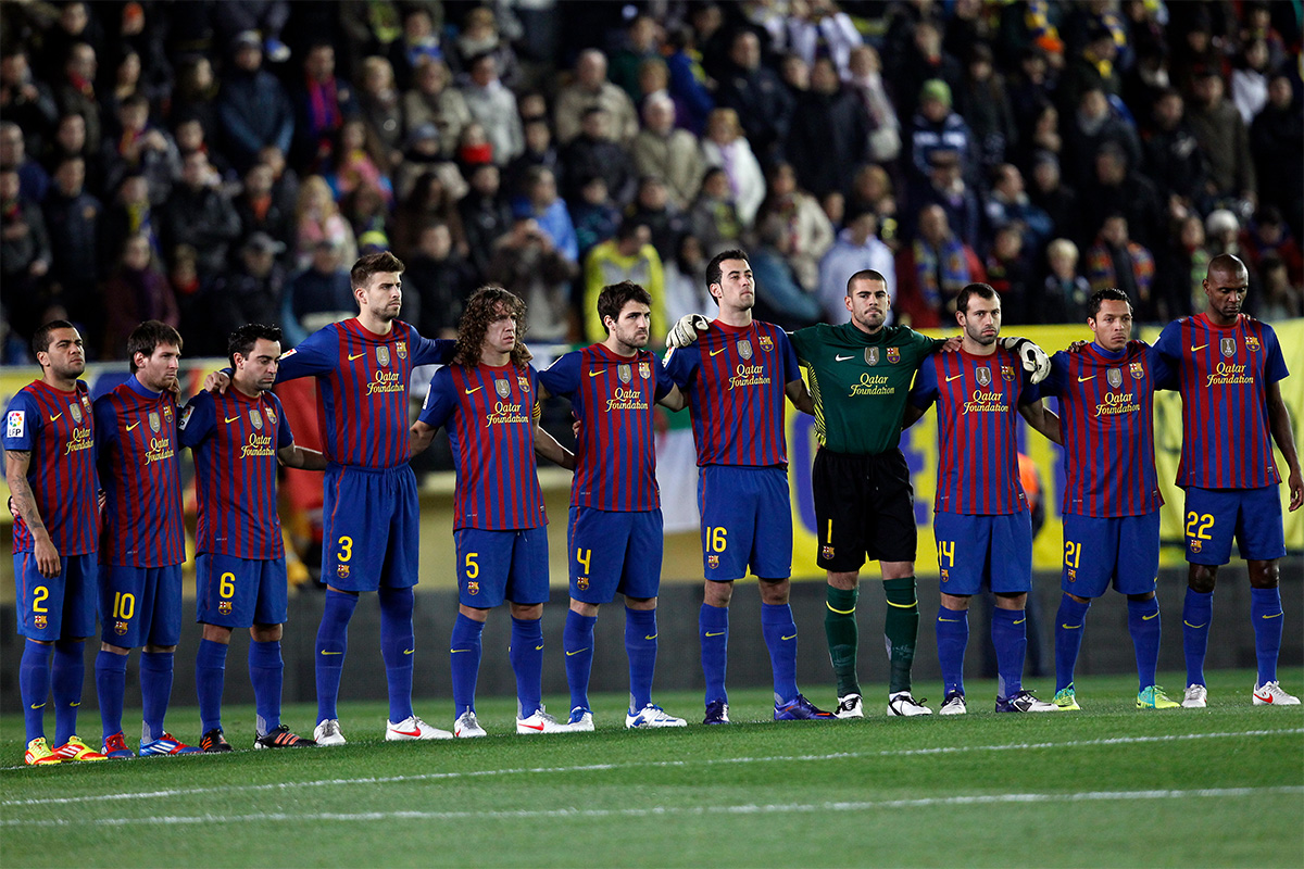 barcelona back four