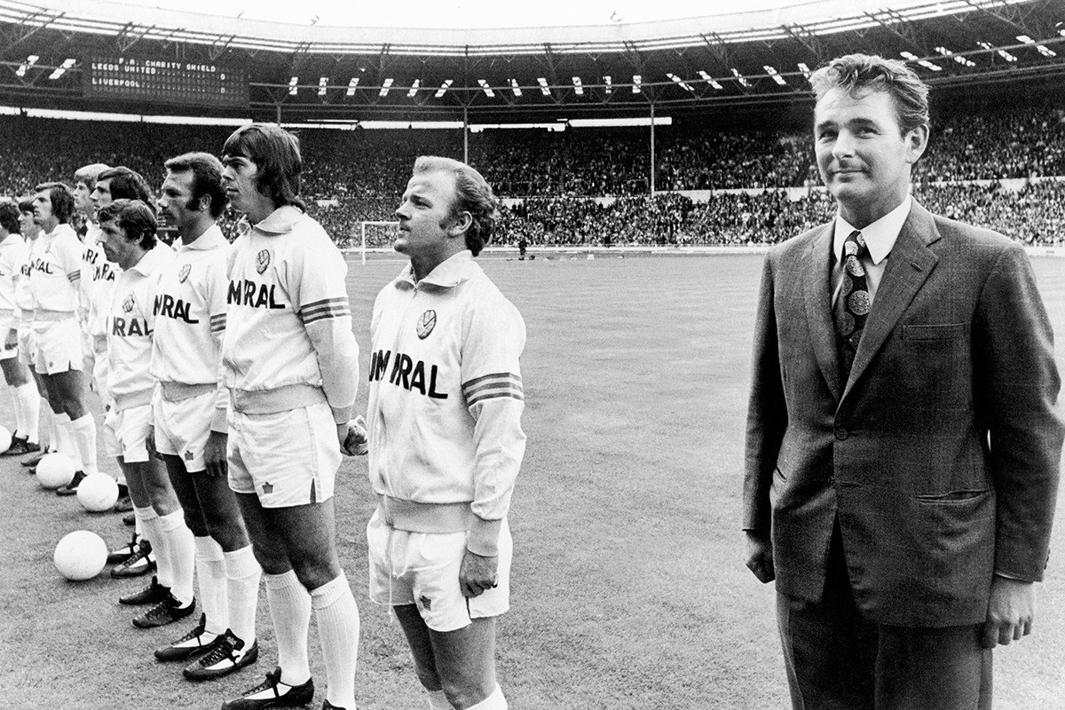 brian clough FA Charity Shield - Liverpool v Leeds United