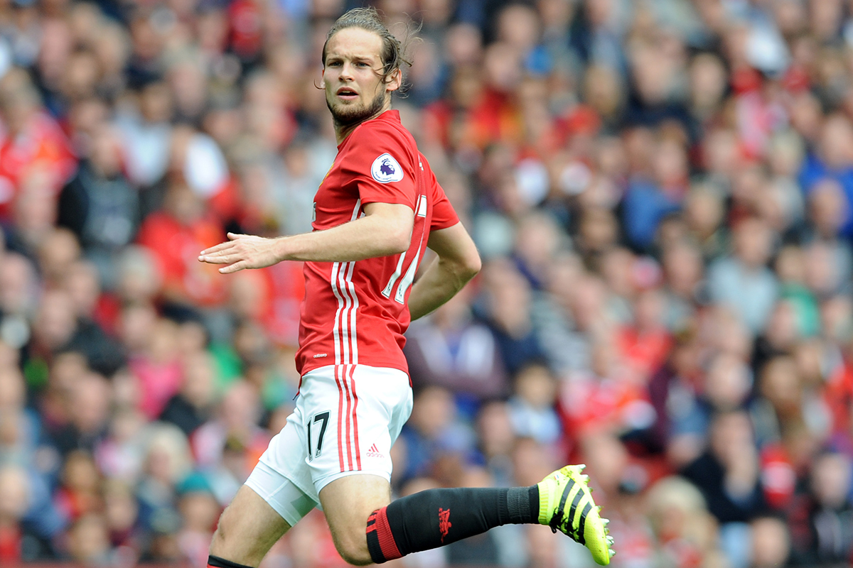 daley blind Manchester United v Leicester City