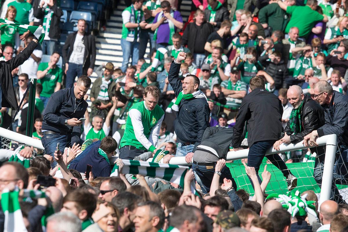Rangers v Hibernian Scottish Cup Final Hampden Park