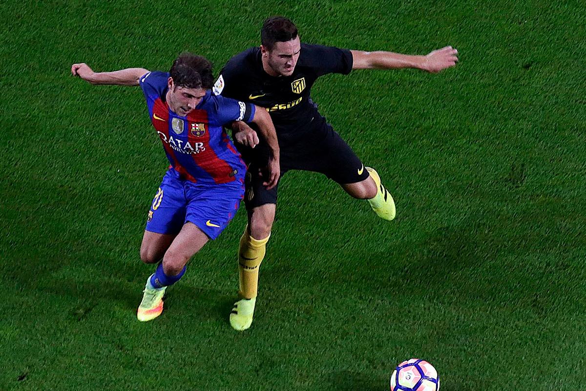 koke FC Barcelona v Atletico Madrid
