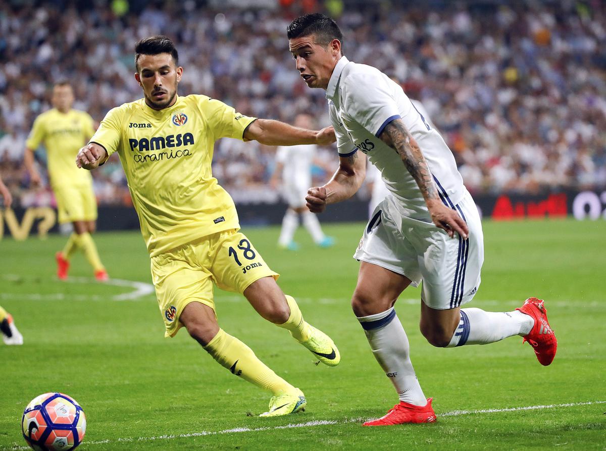 Real Madrid v Villarreal - La Liga - Santiago Bernabeu Stadium