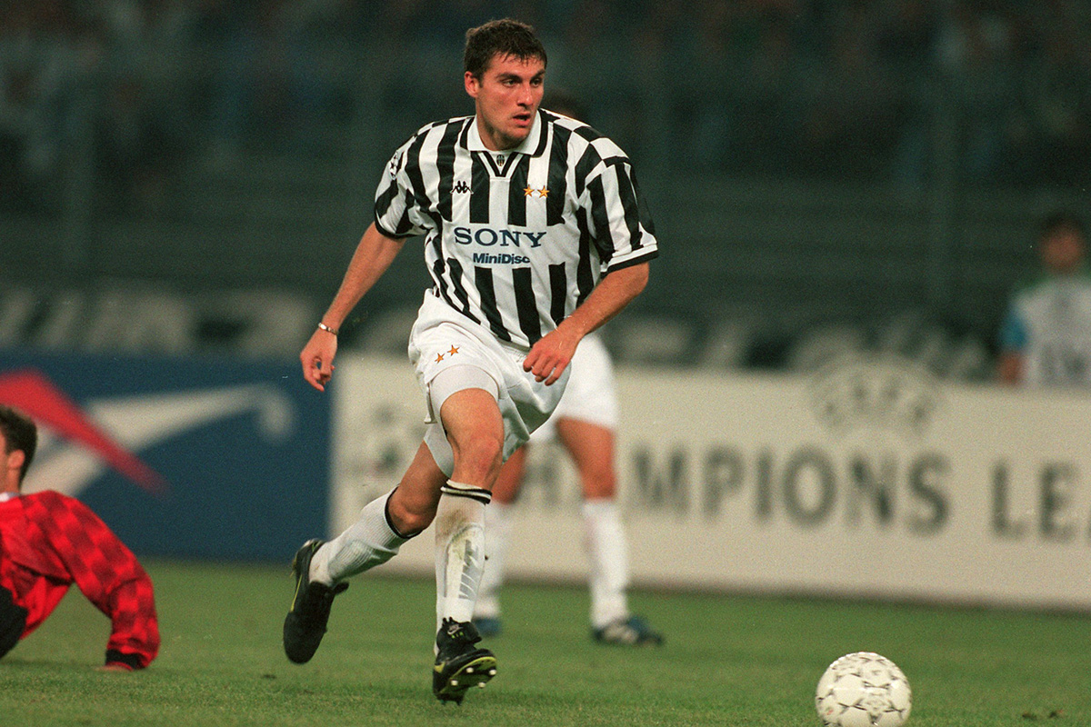 Icons of the 90s Christian Vieri