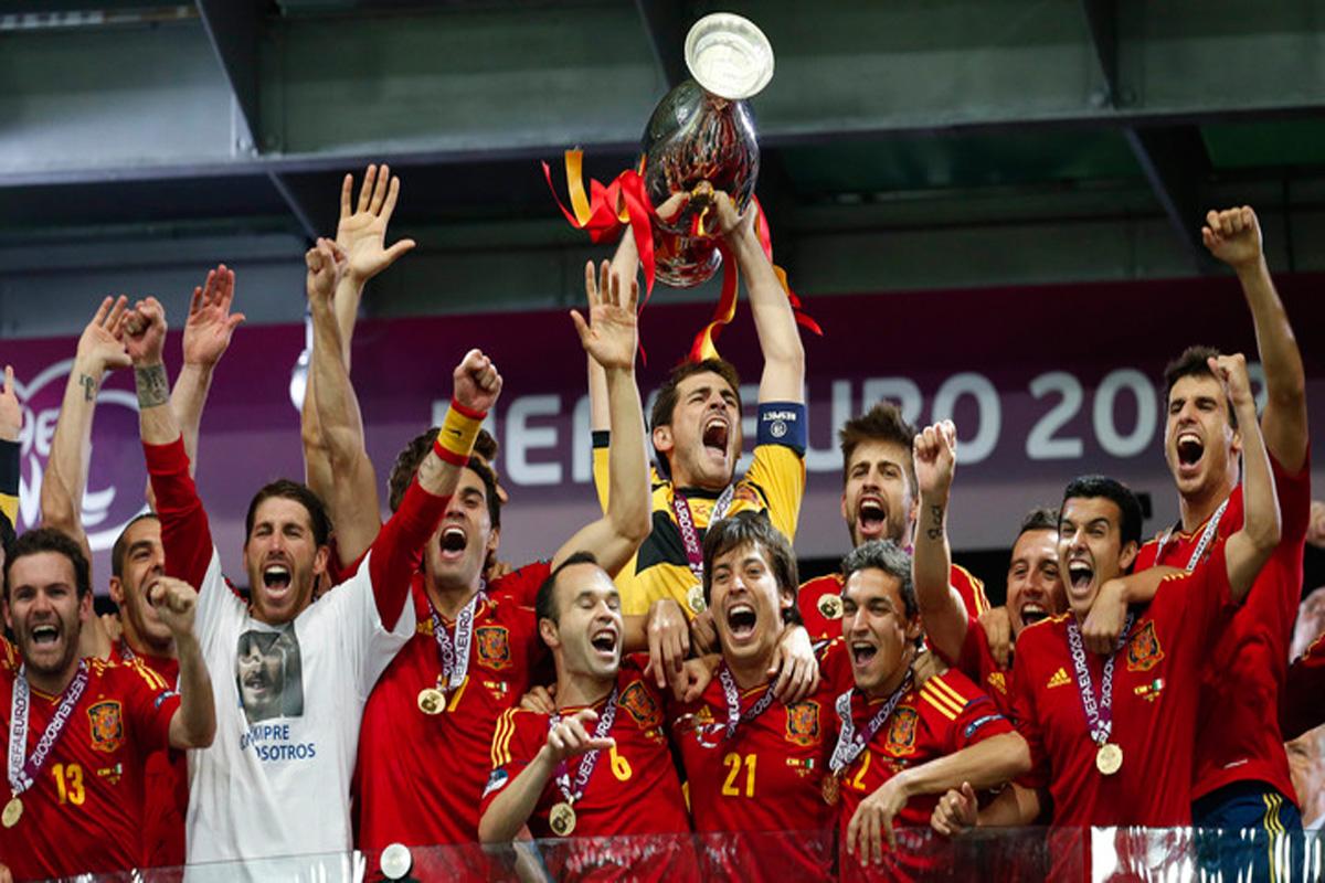 Italy vs Spain Euro 2012