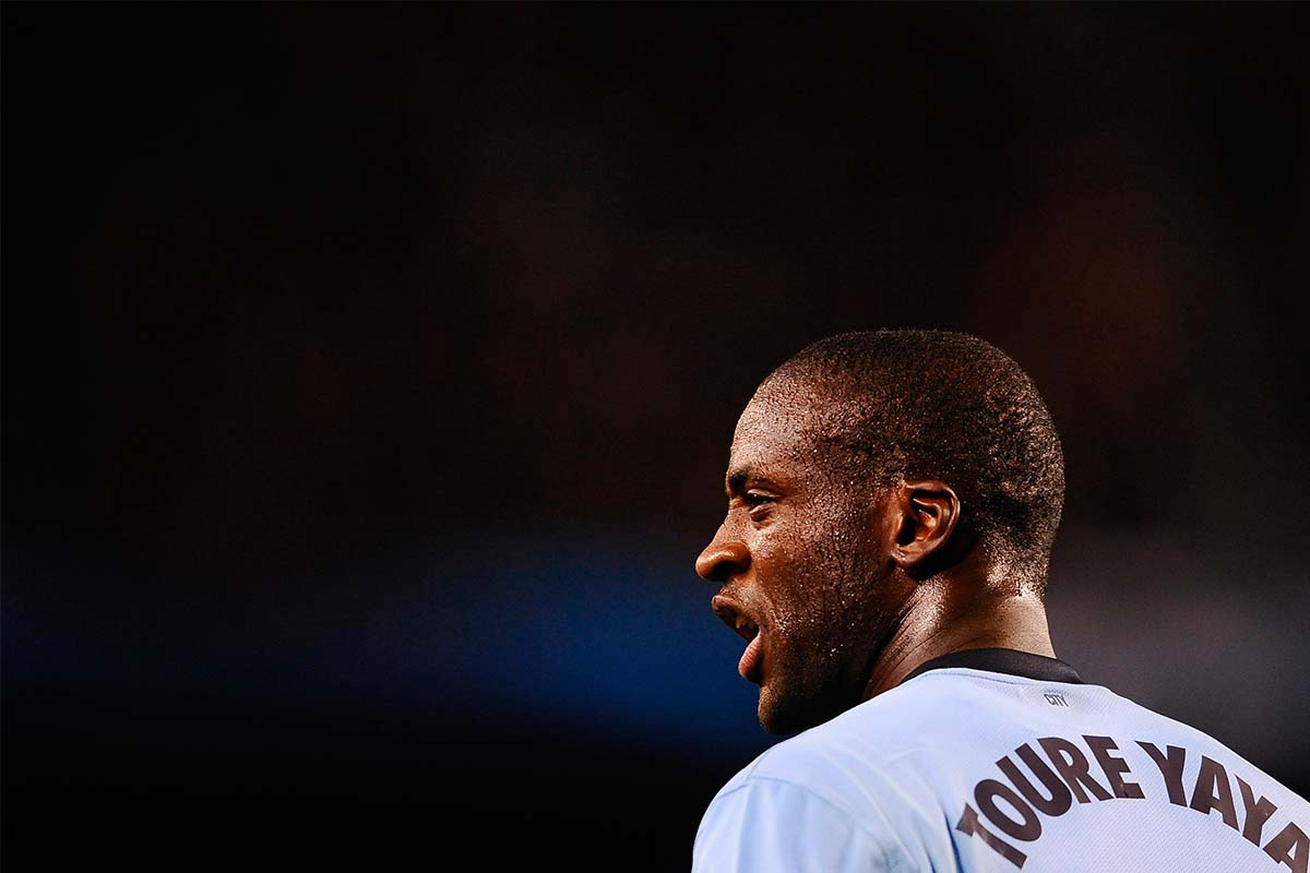 Man City's Yaya Toure