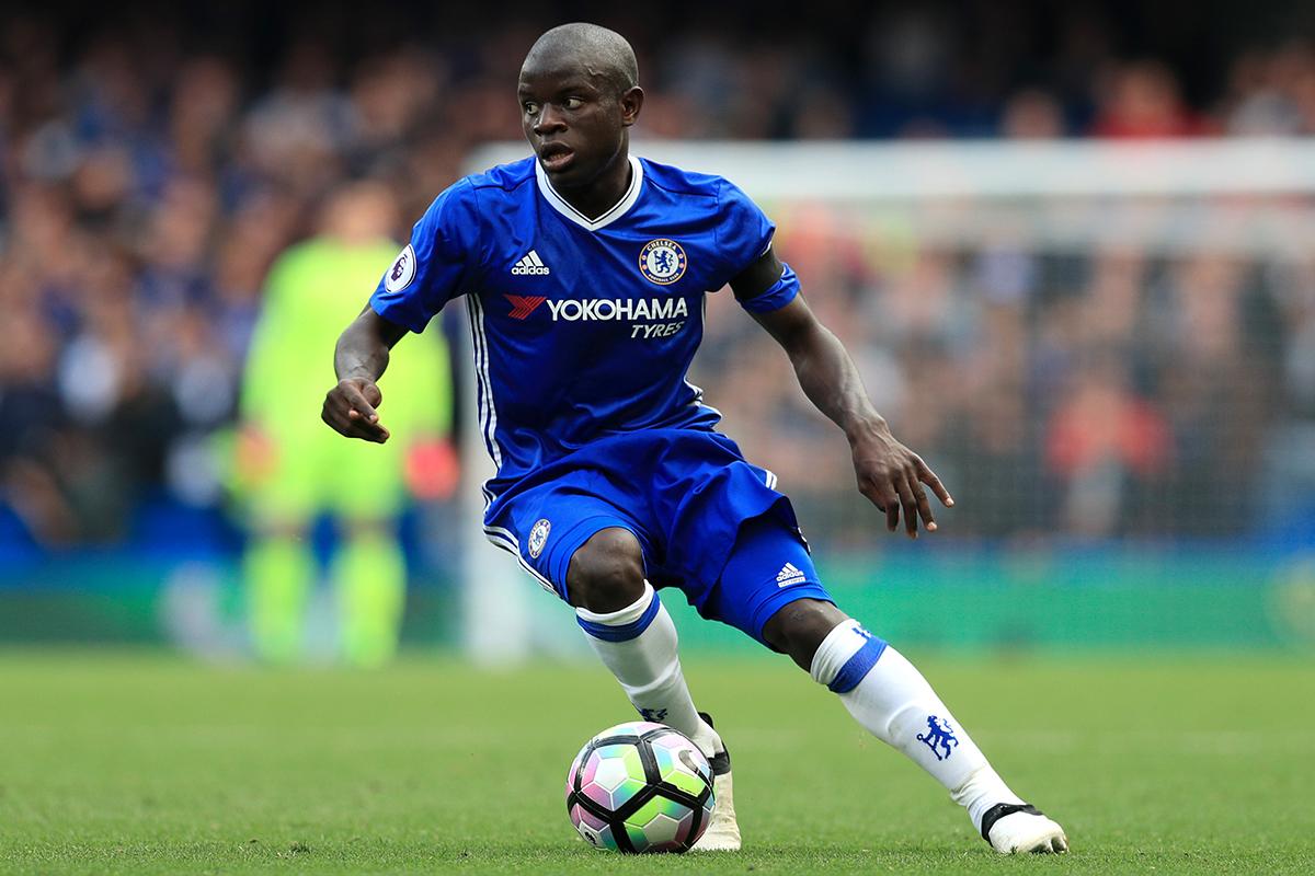 Chelsea's N'Golo Kanté