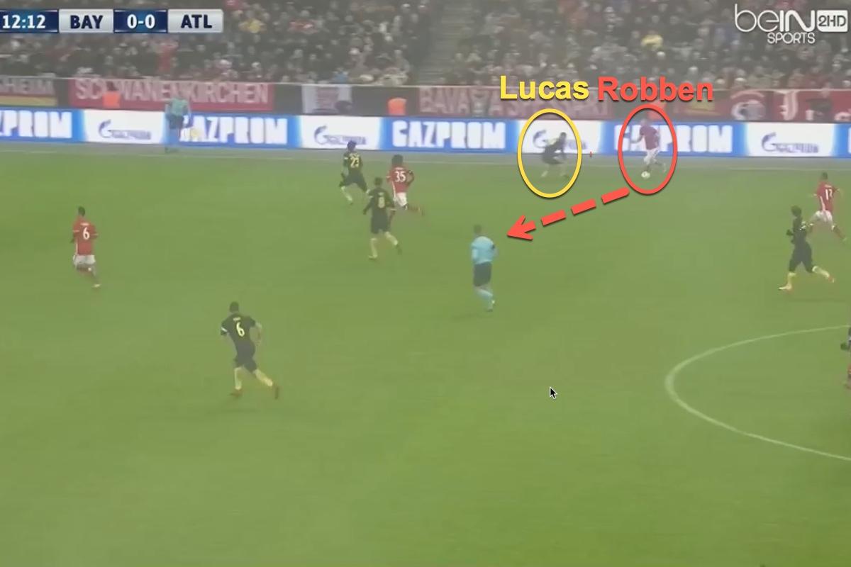 Bayern atletico champions league lucas hernandez arjen robber