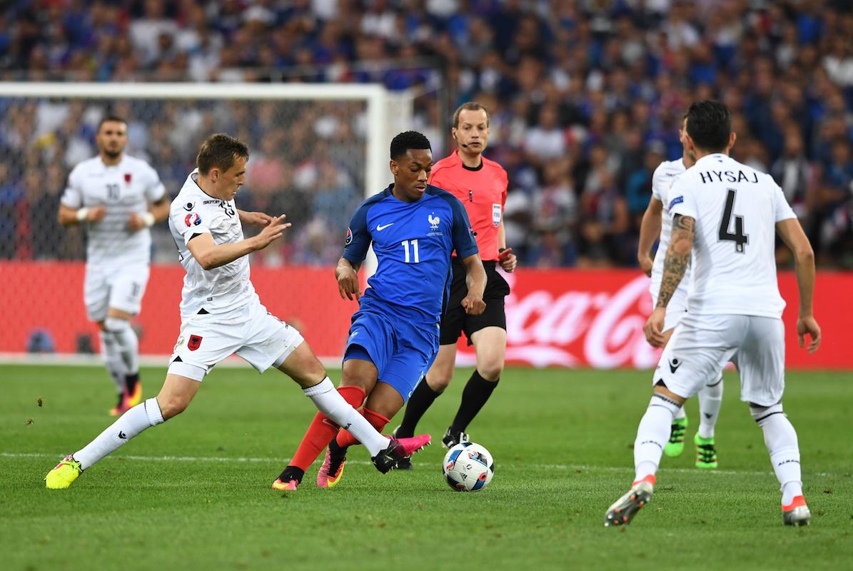 EURO 2016 - Group A France vs. Albania