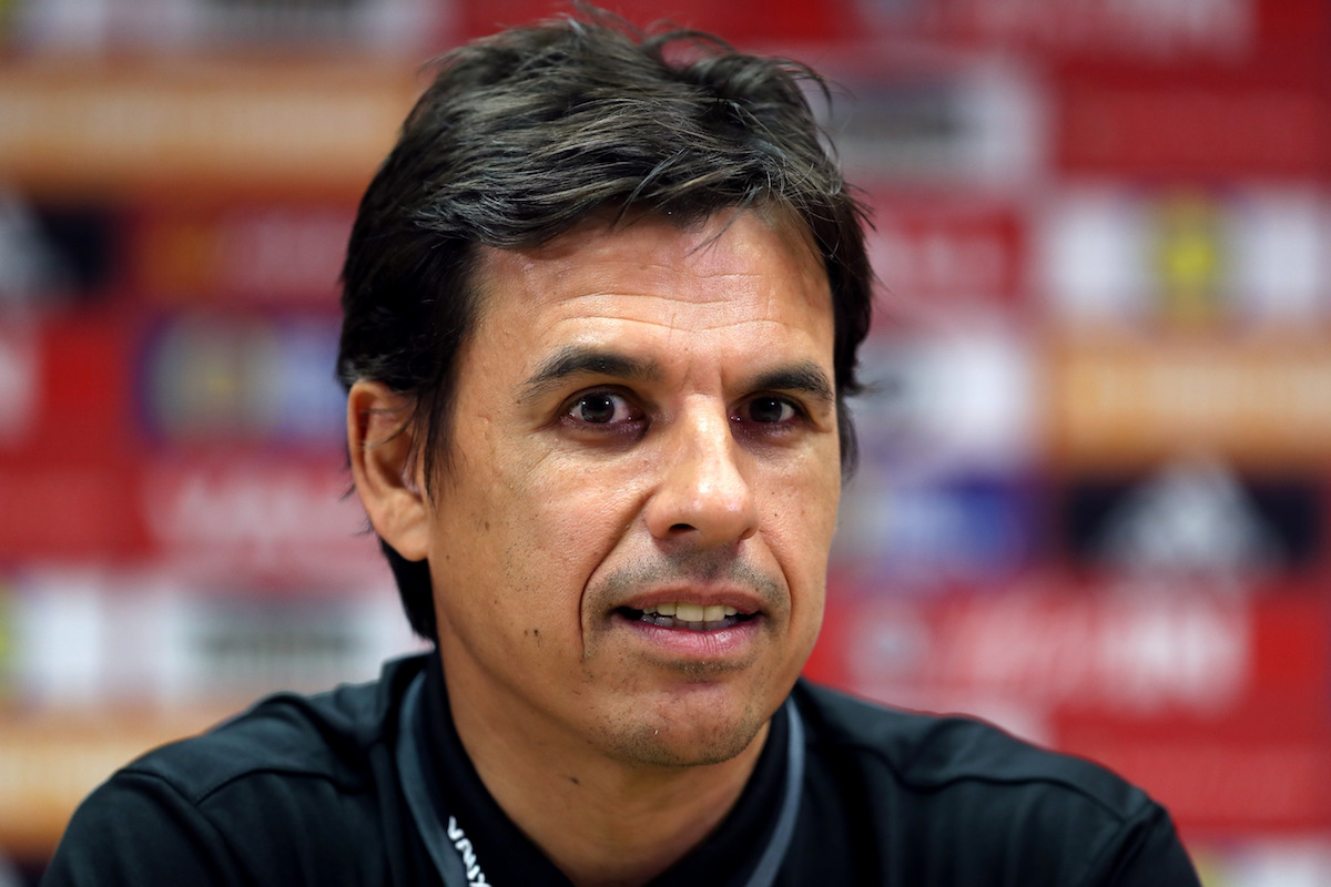 Wales manager Chris Coleman during a press conference at the Cardiff City Stadium. PRESS ASSOCIATION Photo. Picture date: Saturday October 8, 2016. See PA story SOCCER Wales. Photo credit should read: David Davies/PA Wire. RESTRICTIONS: Editorial use only, No commercial use without prior permission, please contact PA Images for further information: Tel: +44 (0) 115 8447447.