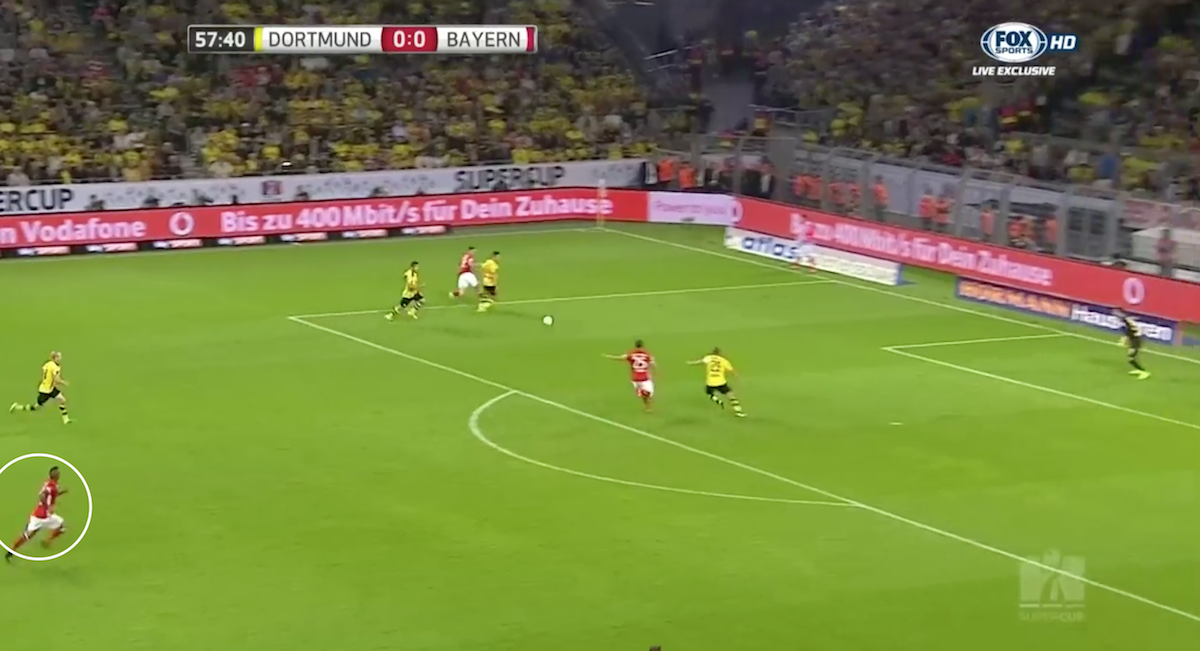 Vidal attack vs Dortmund