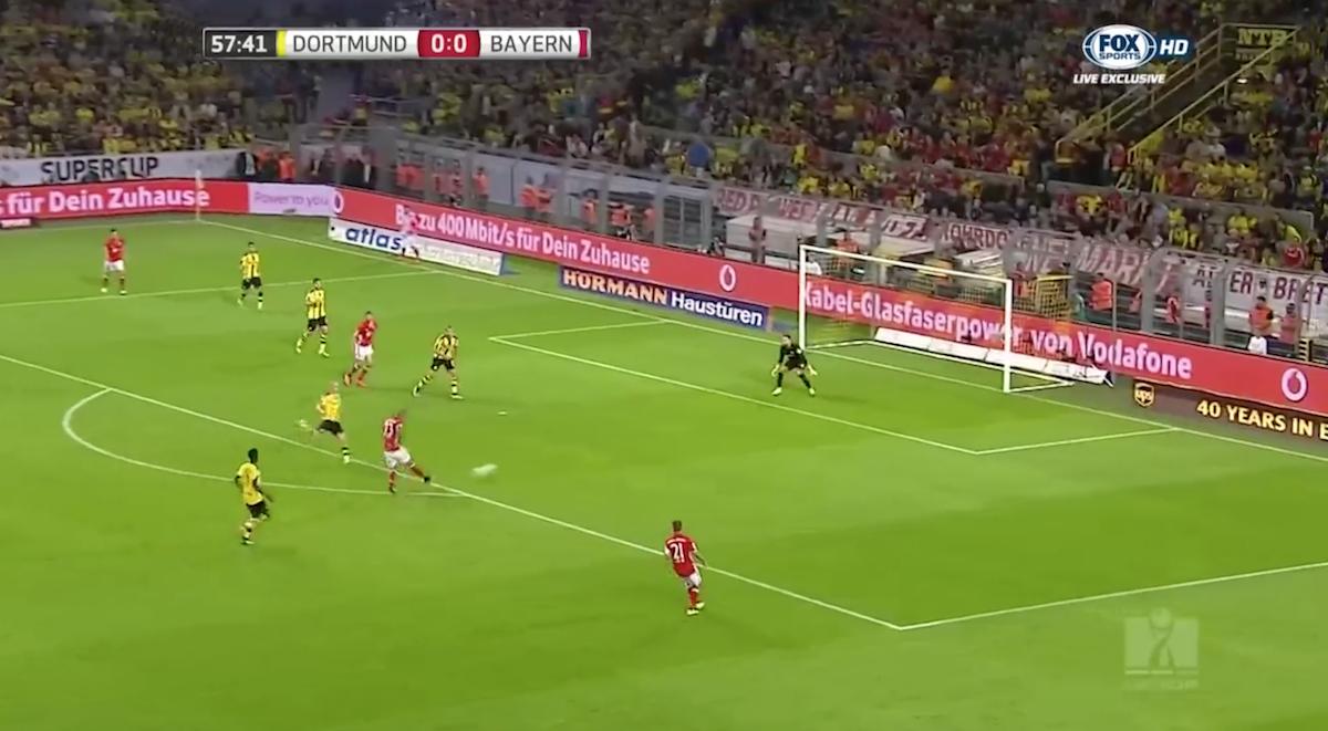 Vidal goal against Dortmund