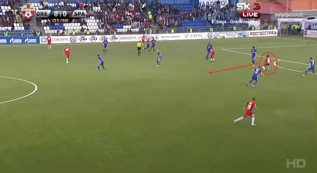 Quincy Promes movement