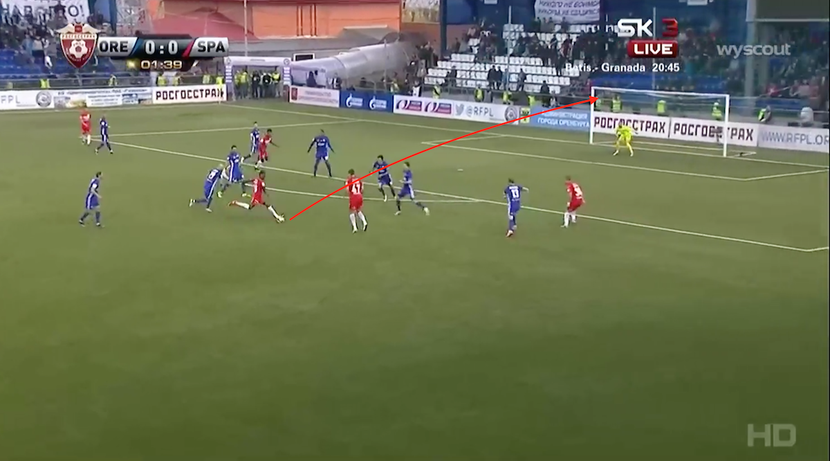 Quincy Promes goal