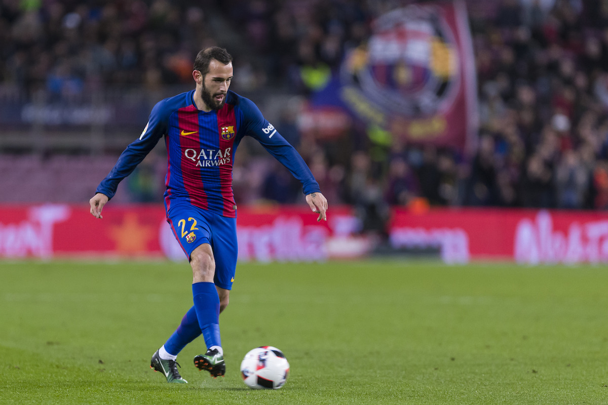 Dec, 21th: Aleix Vidal during the match between FC Barcelona vs Hercules CF, for the matchday 5 of the Spanish King's Cup, played at Camp Nou Stadium on 21th December 2016 in Barcelona, Spain. (Credit: Mikel Trigueros / Urbanandsport / Cordon Press)