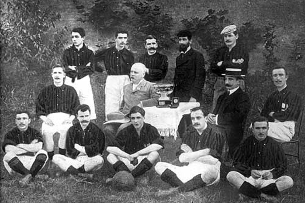 Milan CFC in 1901