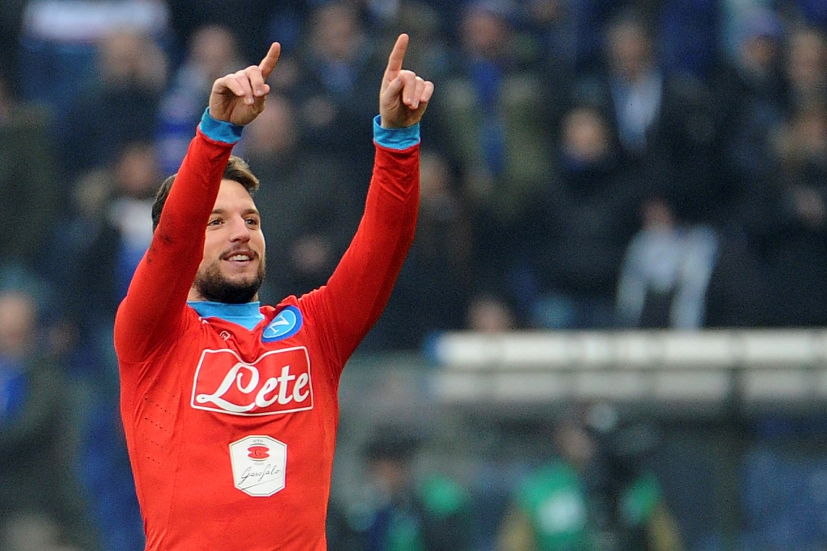Dries Mertens: a tactical look at the new hero of Napoli