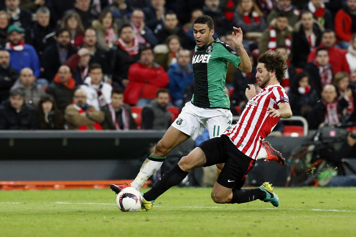 Europa League Serie A La Liga Defrel Sassuolo Bilbao San Mames
