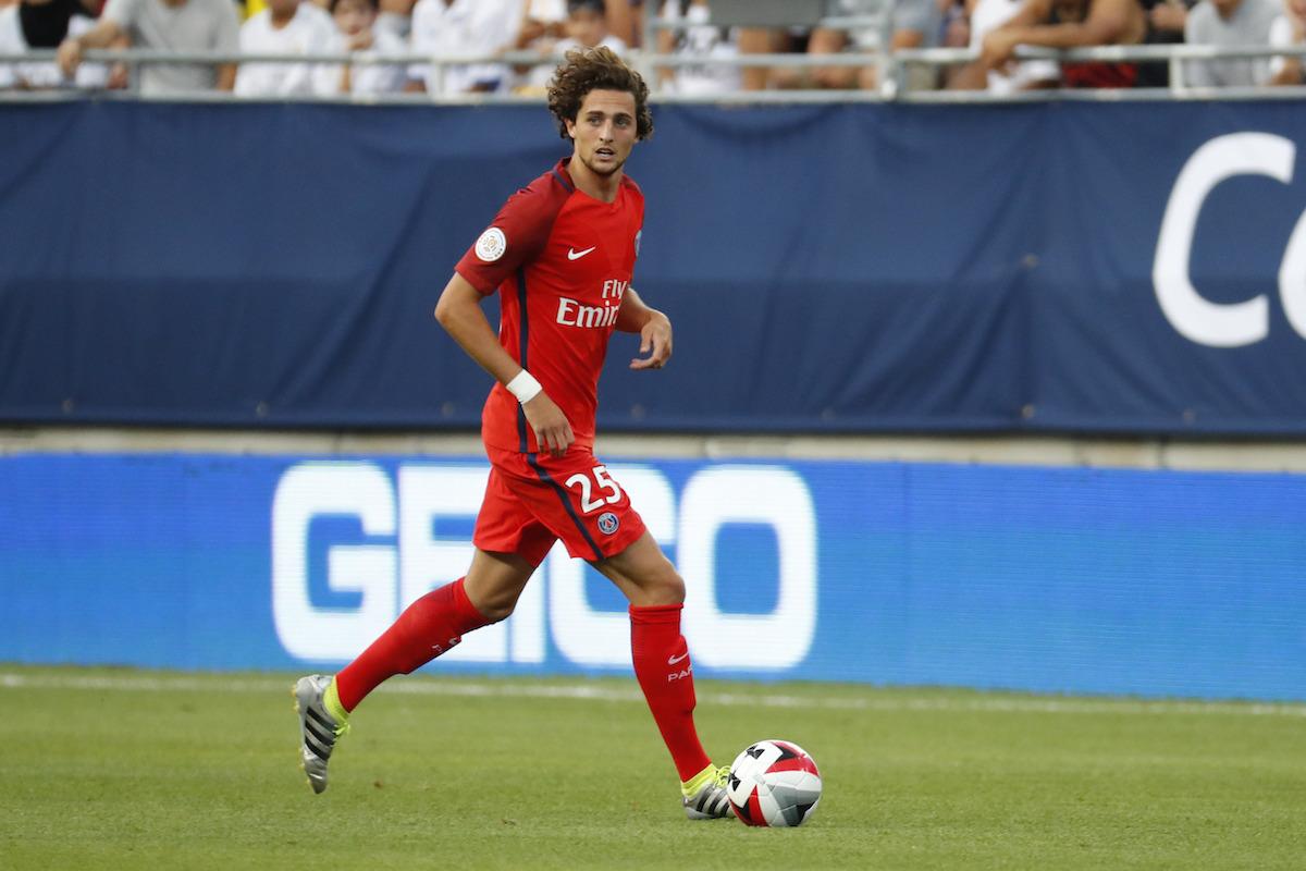 Adrien Rabiot has been excellent for PSG.