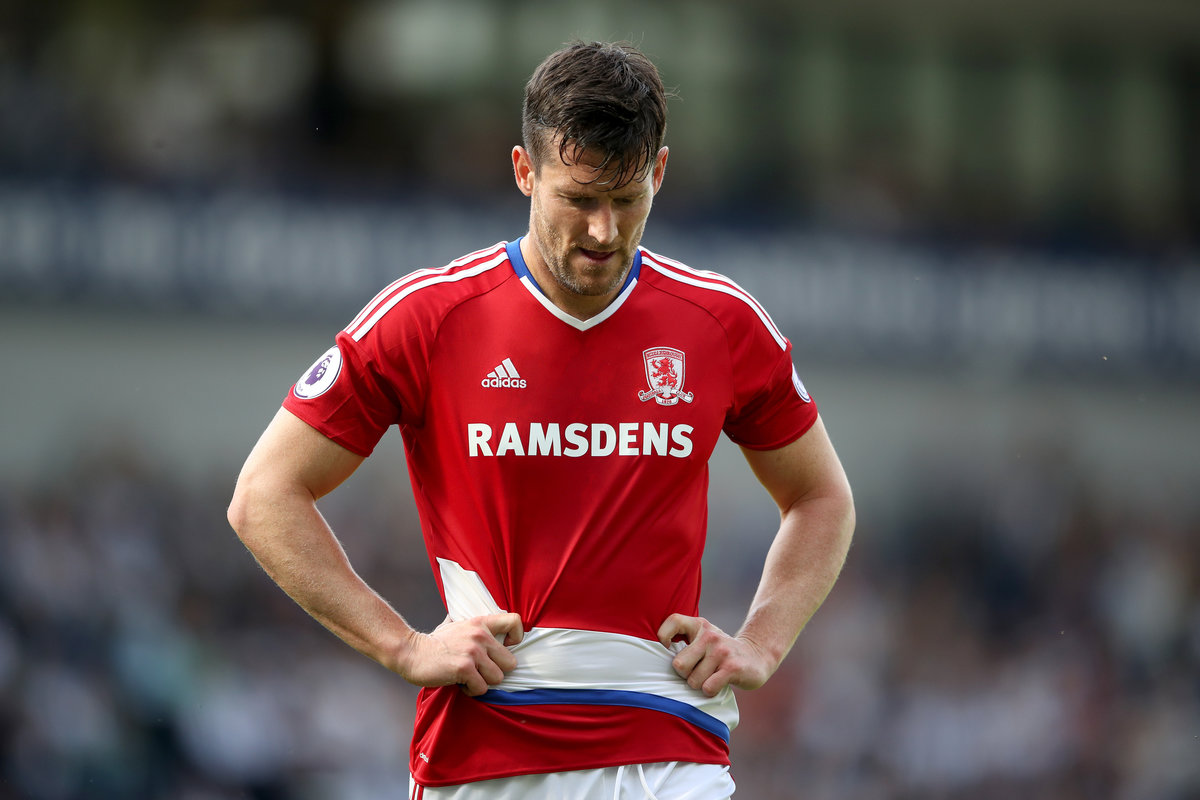 David Nugent in action for Middlesbrough