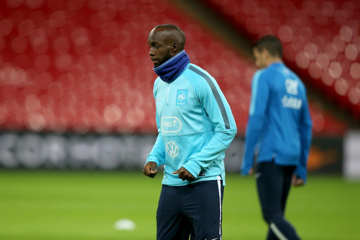 Lassana Diarra in training for France