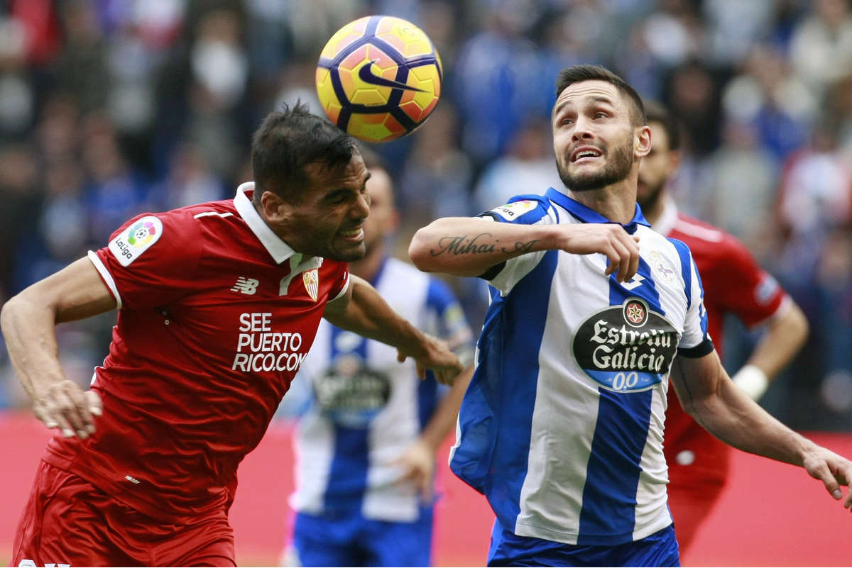 Deportivo's Florin Andone
