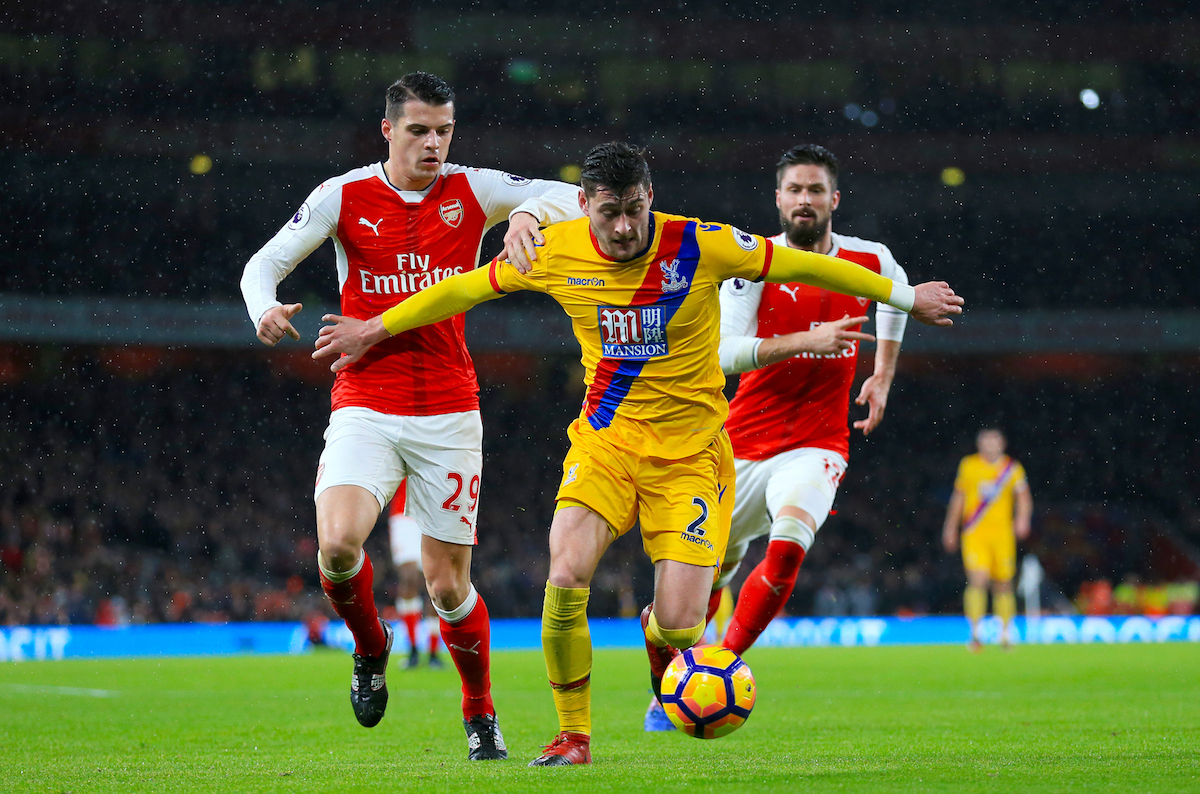 Granit Xhaka has impressed for Arsenal of late
