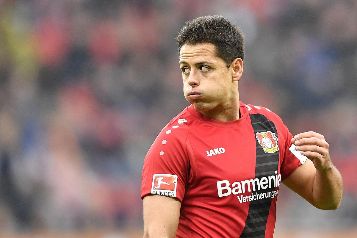 Javier Hernandez is a target for Chelsea.