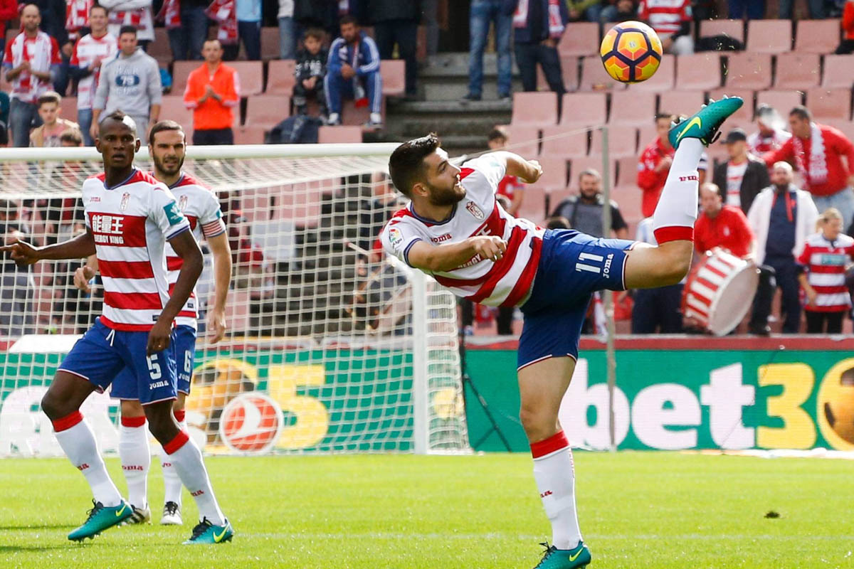Arsenal loanee Jon Toral playing for Granada