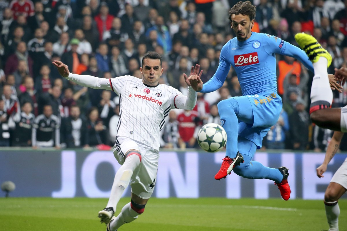 Manolo Gabbiadini has left Napoli for Southampton