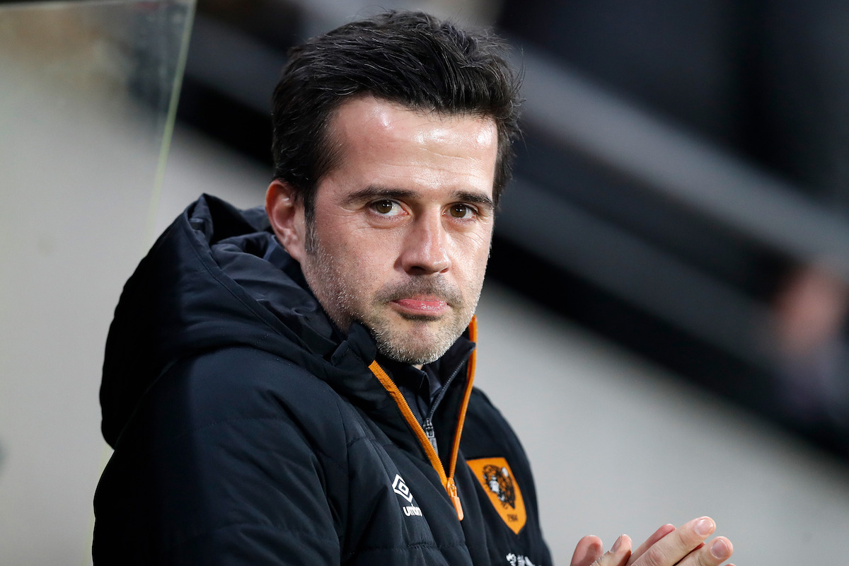 Hull City manager Marco Silva before the EFL Cup Semi Final