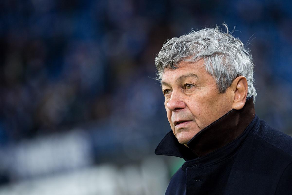 Former Shakhtar Donetsk manager Mircea Lucescu