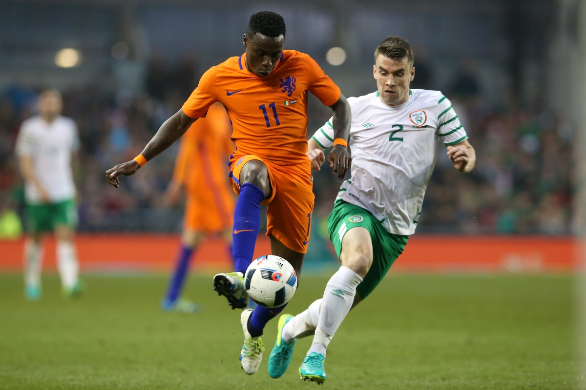 Liverpool transfer target Quincy Promes is a regular for the Netherlands