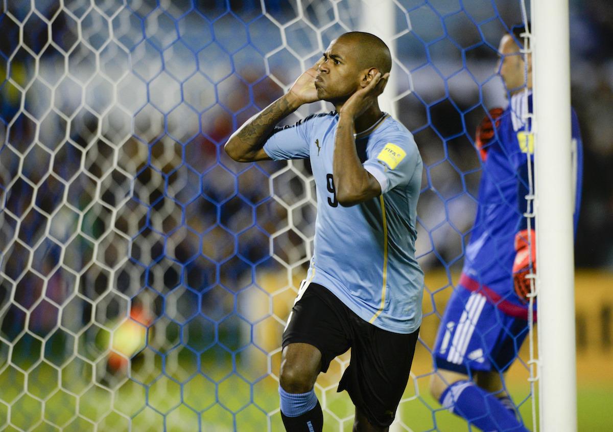 Uruguay's Diego Rolan