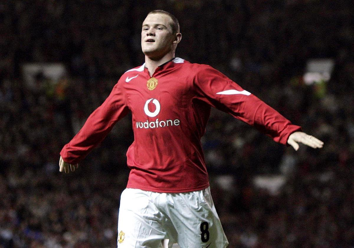 Wayne Rooney on his Manchester United debut